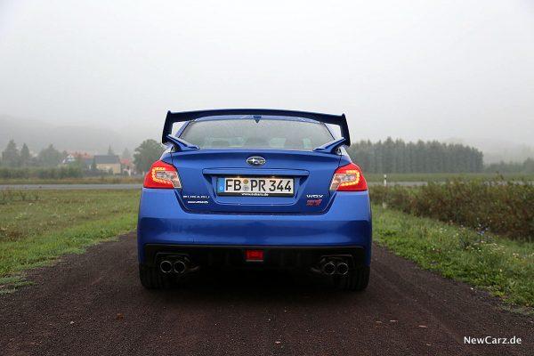 Subaru WRX STi hinten