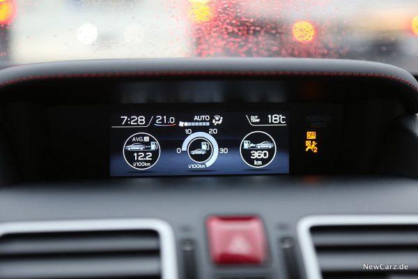 Subaru WRX STi Verbrauch