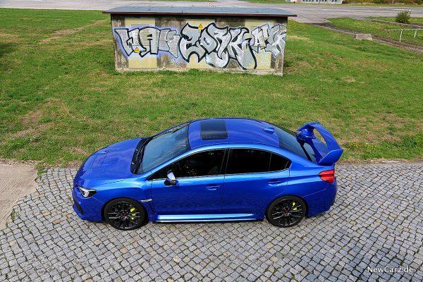 Subaru WRX STi schräg oben