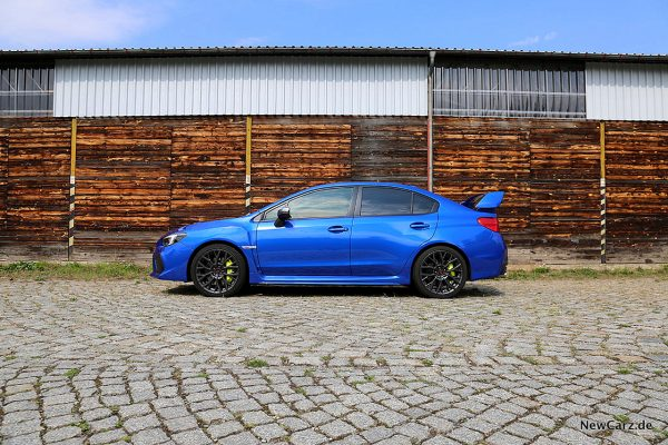 Subaru WRX STi Seite