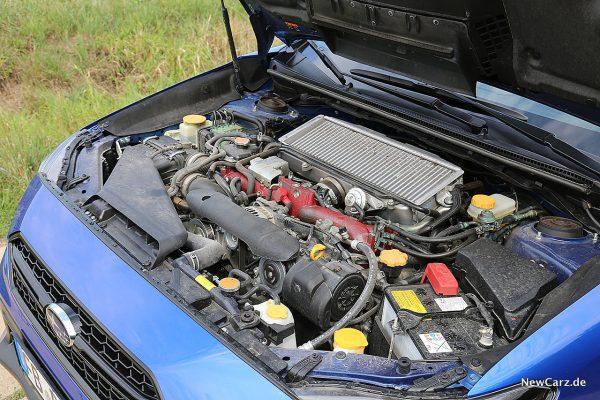 Subaru WRX STi Motorraum
