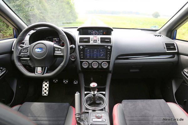 Subaru WRX STi Armaturenbrett