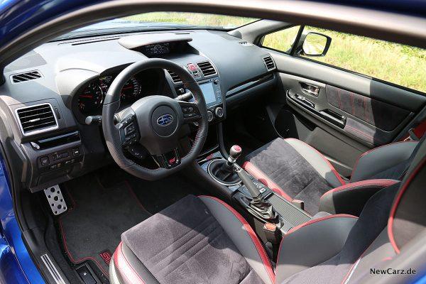 Subaru WRX STi Vordersitze