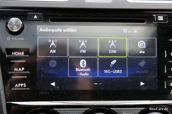 Subaru WRX STi Touchscreen