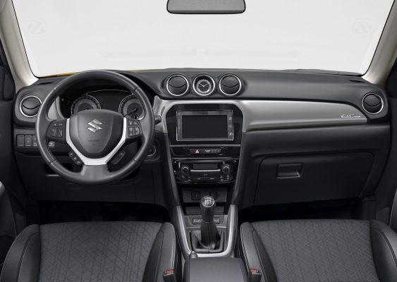 Interieur des Suzuki Vitara