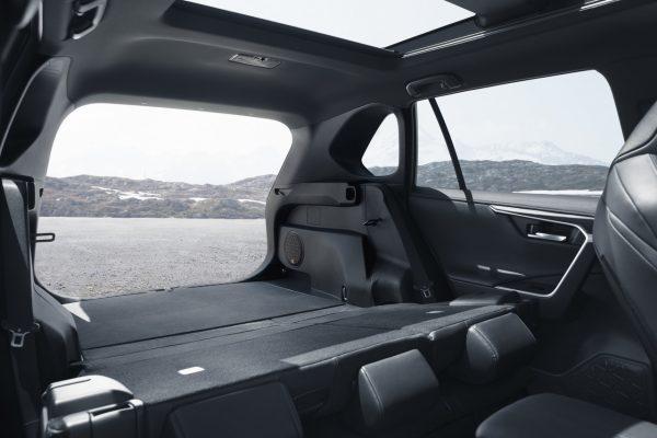 Kofferraum des Toyota RAV4