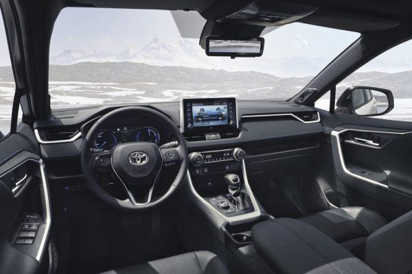 Interieur des Toyota RAV4