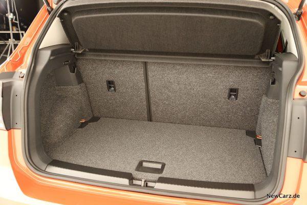 VW T-Cross Kofferraum