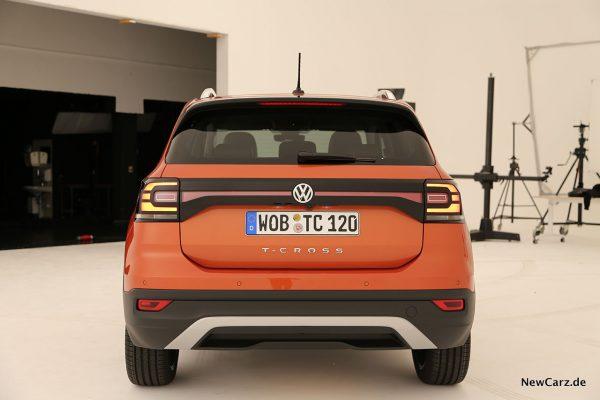 VW T-Cross Heck