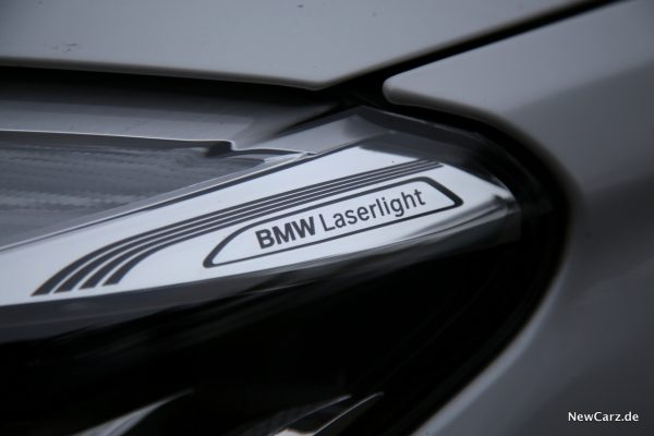 BMW 7er BMW Laserlight Schriftzug