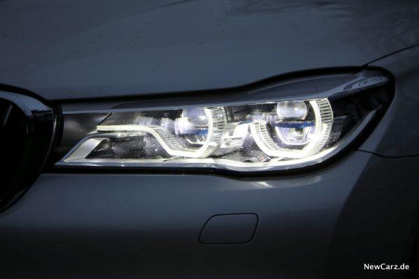 BMW 7er Scheinwerfer Volllicht
