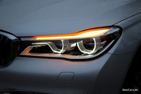 BMW 7er Scheinwerfer Blinker