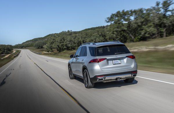 Mercedes-Benz GLE Heckansicht