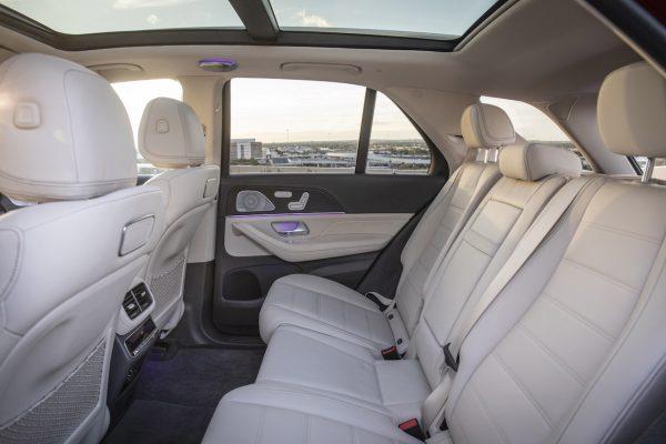 Mercedes-Benz GLE Rücksitze