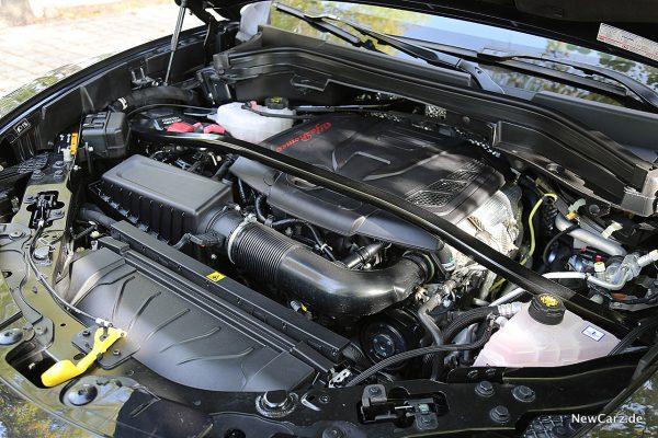 Alfa Romeo Stelvio Motorraum