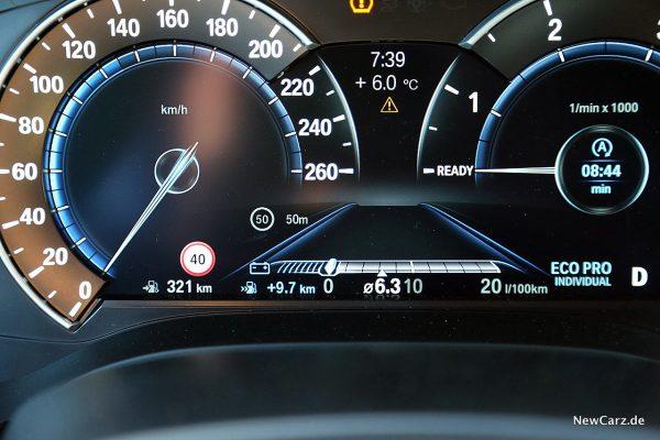 BMW 640d GT Verbrauch