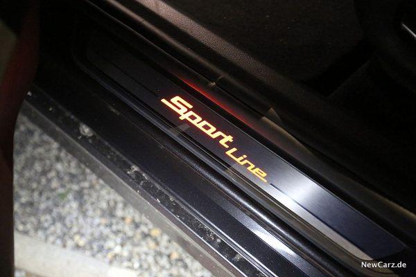 BMW 640d GT Einstiegsleiste