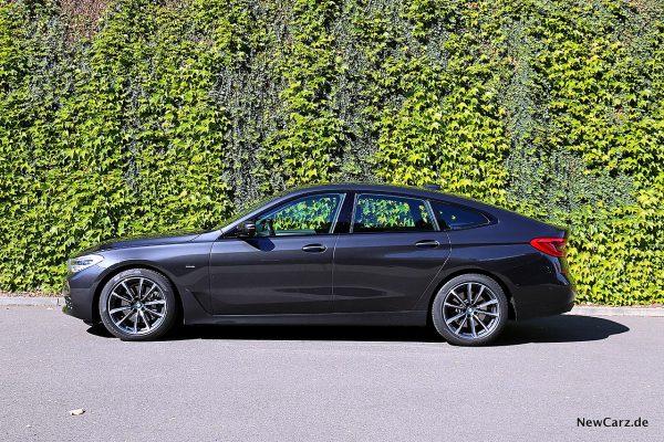 BMW 640d GT Seitenansicht