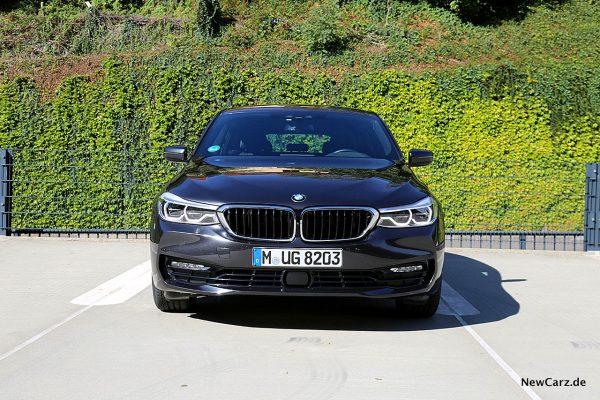 BMW 640d GT Front