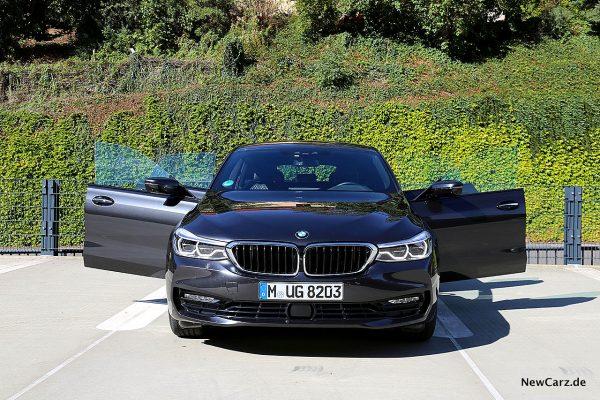 BMW 640d GT Front, offene Türen