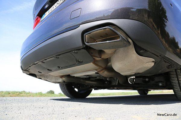 BMW 640d GT Endrohre