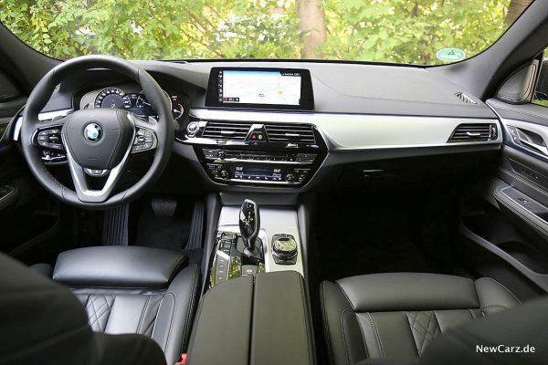 BMW 640d GT Armaturenbereich