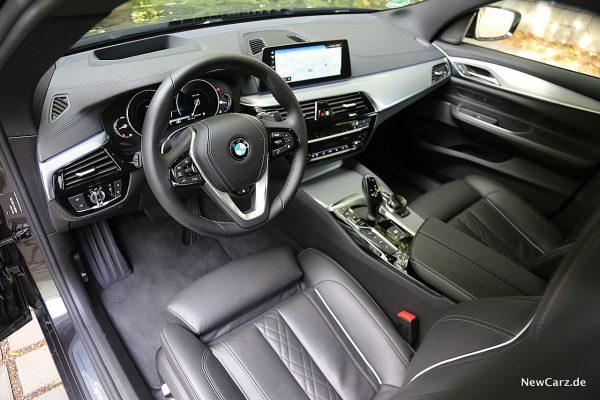 BMW 640d GT Fahrerplatz
