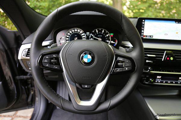 BMW 640d GT Lenkrad