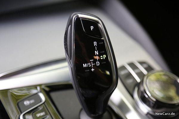 BMW 640d GT Schalthebel