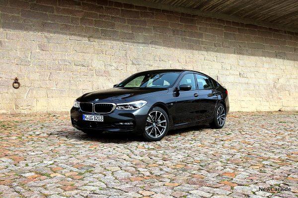 BMW 640d GT schräg vorne