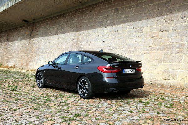 BMW 640d GT schräg hinten