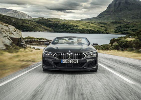 Frontansicht des BMW M850i Cabrioo