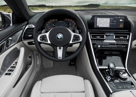 Interieur des BMW M850i Cabrio