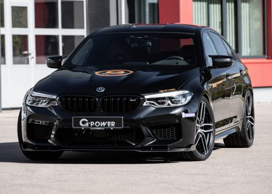 Frontansicht des BMW M5 G-Power