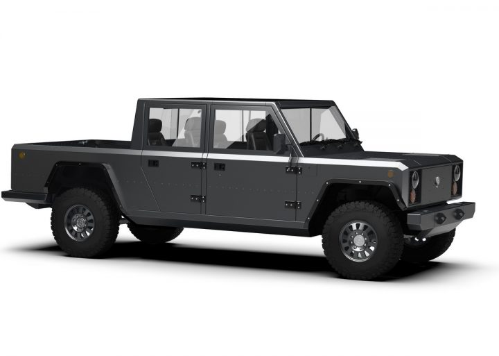 E-Pick-up - Bollinger Motors B2