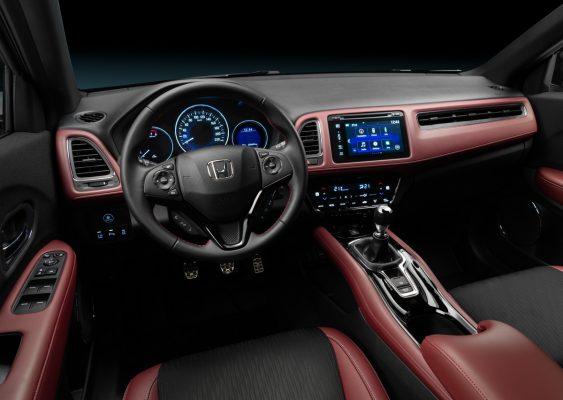 Interieur des Honda HR-V Sport