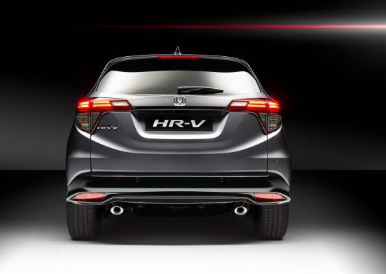 Heckansicht des Honda HR-V Sport