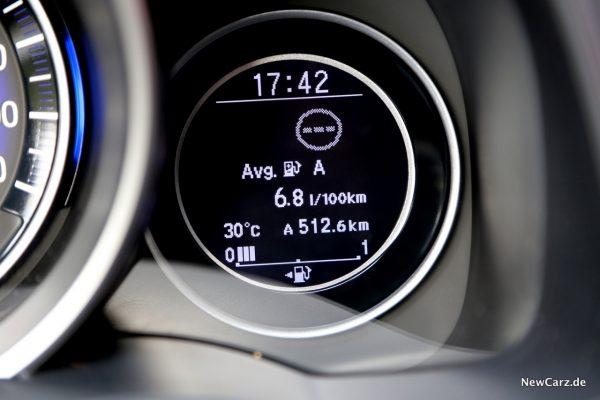 Honda Jazz Facelift Verbrauch
