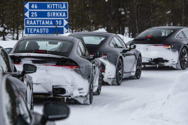 Porsche 991 992 Schnee