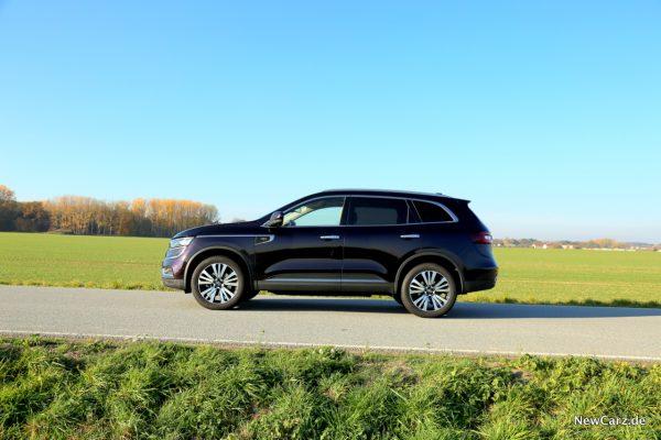 Renault Koleos Seitenansicht Schönwetter