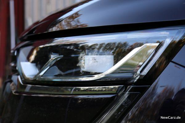 Renault Koleos Scheinwerfer seitlich