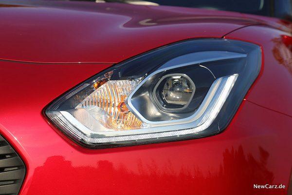 Suzuki Swift Hybrid Scheinwerfer