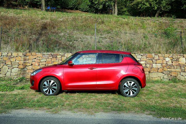 Suzuki Swift Hybrid Seitenansicht