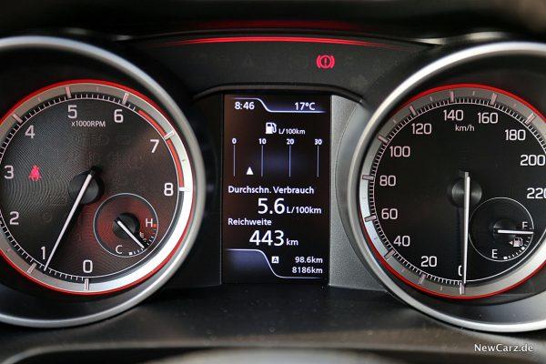 Suzuki Swift Hybrid Verbrauch