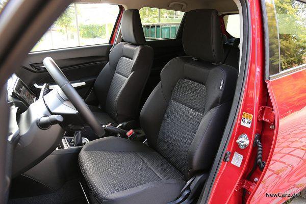 Suzuki Swift Hybrid Vordersitze
