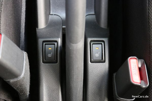 Suzuki Swift Hybrid Sitzheizung