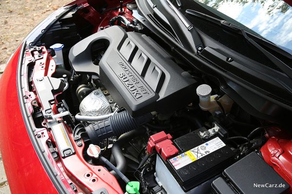 Suzuki Swift Hybrid Motorraum