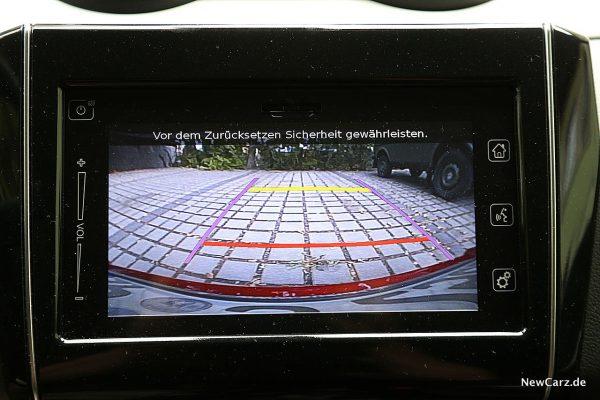 Suzuki Swift Hybrid Rückfahrkamera