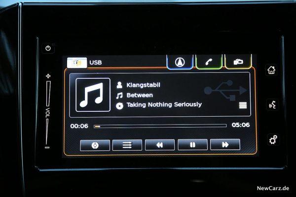 Suzuki Swift Hybrid Soundsystem