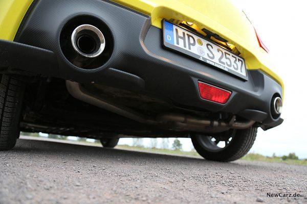 Suzuki Swift Sport Endrohre